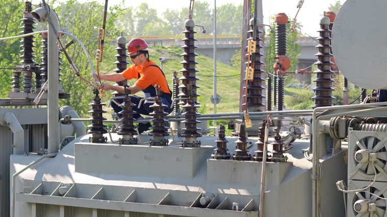 Electrical power-line installer inspects and tests power-lines and auxiliary equipment.